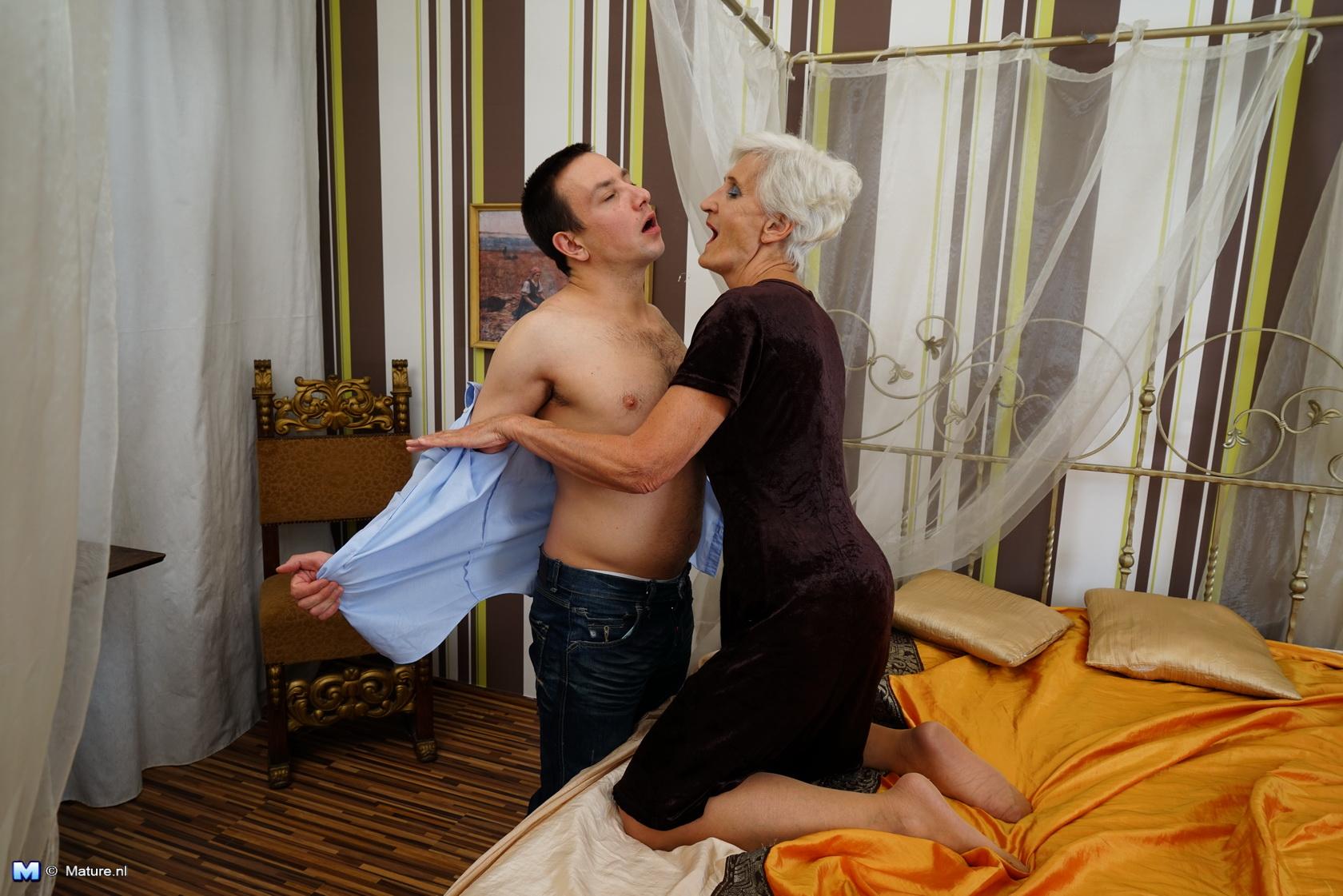 Who throat fucking love grandma